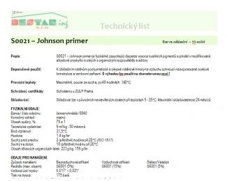 S0021 - Johnson primer